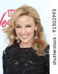 Small photo of Kylie Minogue at the 2011 Billboard Music Awards Arrivals, MGM Grand Garden Arena, Las Vegas, NV 05-22-11