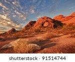 Beautiful Desert Landscape Wit...