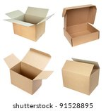 collection of  various white... | Shutterstock . vector #91528895
