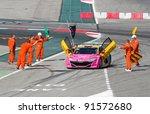 barcelona   october 9  stefano... | Shutterstock . vector #91572680