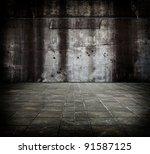 Large Concrete Compound.