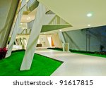 fragment of the resort hotel ... | Shutterstock . vector #91617815