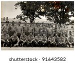 Platoon  Soldiers   Photo Scan...
