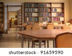Interior Of A Library   Photo...