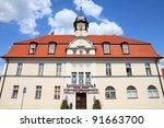 poland   architecture in kornik.... | Shutterstock . vector #91663700