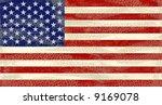an high detailed grunge usa flag | Shutterstock . vector #9169078