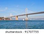 Suspension Oakland Bay Bridge...