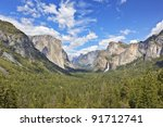Yosemite Valley As Seen From...