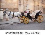 Traditional Horse And Carriage...