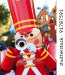 A Toy Soldier Playing The...