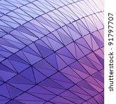 abstract wall in modern... | Shutterstock . vector #91797707