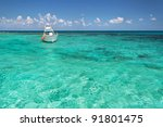 Snorkeling Boat On Turquise...