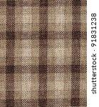 Fabric Plaid Texture.  High Re...