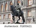 national museum of art and... | Shutterstock . vector #91853621