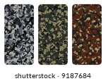 different types of camouflage | Shutterstock . vector #9187684