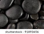 photo shot of stones background - stock photo