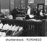 workplace - stock photo