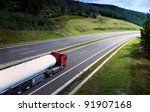 truck on the road | Shutterstock . vector #91907168