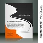 flyer design | Shutterstock .eps vector #91916981