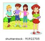 friends   Shutterstock . vector #91922705