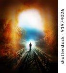 life after death | Shutterstock . vector #91974026