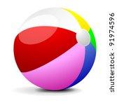 illustration of a colorfull... | Shutterstock .eps vector #91974596