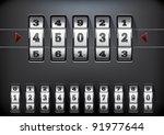 vector illustration of a...   Shutterstock .eps vector #91977644