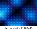 glowing blue abstract party... | Shutterstock .eps vector #91982645