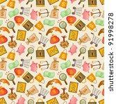 cartoon finance   money... | Shutterstock .eps vector #91998278