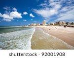 hobie beach  port elizabeth ... | Shutterstock . vector #92001908