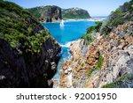 landscape in knysna  western... | Shutterstock . vector #92001950