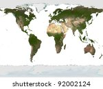 the earth | Shutterstock . vector #92002124