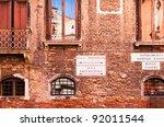 Venice  Italy    Ancient Brick...