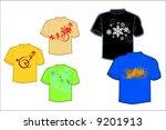 tshirt | Shutterstock .eps vector #9201913