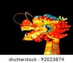 Head Of A Dragon Lantern At...