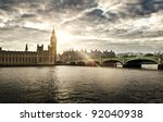 Houses Of Parliament And...