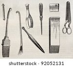 Upholstering Tools Old...