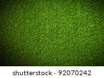 artificial grass background | Shutterstock . vector #92070242