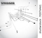 abstract background vector | Shutterstock .eps vector #92076461