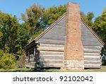 andrew jackson cabin | Shutterstock . vector #92102042
