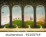 Illustration Of Four Seasons....