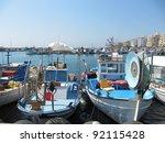 Boats In Ayia Napa  Cyprus
