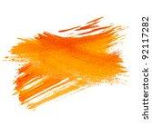 paint brush stroke texture... | Shutterstock . vector #92117282