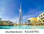 Dubai  Uae   January 4  Burj...