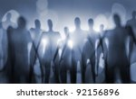 blurry image of nightmarish... | Shutterstock . vector #92156896