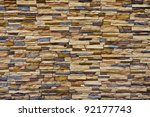 Modern Rough Brick Texture Wall