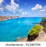 ibiza punta de xarraca... | Shutterstock . vector #92180704