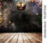 disco ball in a old room | Shutterstock . vector #92187316