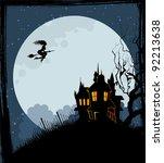halloween back   Shutterstock . vector #92213638