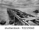 Abandoned Old Pier Shot In...